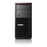Lenovo ThinkStation P520c + ThinkVision P27h Intel® Xeon® W-2123 16 GB DDR4-SDRAM 256 GB SSD Zwart Toren Workstation