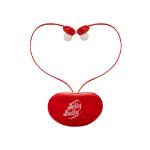 QDOS Jelly Belly Intraaural In-ear Red