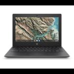 """HP Chromebook 11 G8 EE 29,5 cm (11.6"""") Touchscreen HD Intel® Celeron® N 4 GB LPDDR4-SDRAM 32 GB eMMC Wi-Fi 5 (802.11ac) Chrome OS Grijs"""