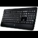 Logitech K800 teclado RF inalámbrico AZERTY Francés Negro