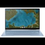 "ASUS Chromebook Flip C433TA Blue,Silver 35.6 cm (14"") 1920 x 1080 pixels Touchscreen Intel® Core™ M 8 GB LPDDR3-SDRAM 64 GB eMMC Wi-Fi 5 (802.11ac) Chrome OS"