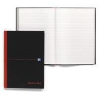 Black n' Red BLK N RED MANUBK A4 FT PACK 5