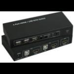 Microconnect MC-HDMI-USBKVM KVM switch Black