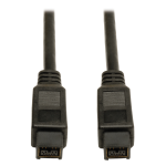 "Tripp Lite F015-010 FireWire cable 118.1"" (3 m) Black"