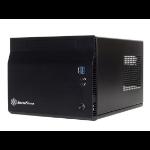 Silverstone SG06-LITE Cube Black computer case