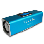 Technaxx MusicMan MA Display Soundstation 6W Blue