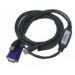Fujitsu S26361-F4473-L230 keyboard video mouse (KVM) cable
