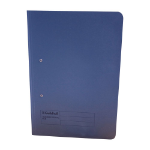 Guildhall Transfer Spring File Foolscap 420gsm Blue PK25