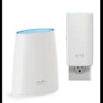 NETGEAR ORBI Whole Home AC2200 Tri-band WiFi System (WiFi Router & Wall Plug Satellite)