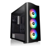 Thermaltake View 23 TG ARGB computer case Midi-Tower Black