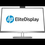 "HP EliteDisplay E243d 60.5 cm (23.8"") 1920 x 1080 pixels Full HD LED Gray, Silver"