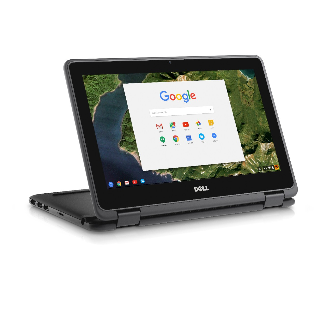 "DELL Chromebook 3189 Zwart 29,5 cm (11.6"") 1366 x 768 Pixels Touchscreen 1,6 GHz Intel® Celeron® N3060"