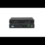 Vivolink VLHDMIEXTFIB AV extender AV transmitter & receiver Black
