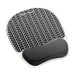 Fellowes 9653401 mouse pad Black,White