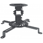 Manhattan Projector Universal Ceiling Mount, Max 13.5kg, Black