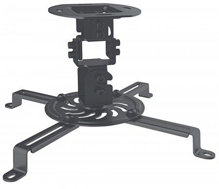 Manhattan Projector Universal Ceiling Mount, Max 13.5kg, Black