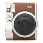 Fujifilm instax mini 90 NEO CLASSIC 62 x 46 mm Brown,Stainless steel