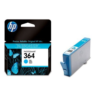 HP 364 Cyan Ink Cartridge Origineel Cyaan 1 stuk(s)