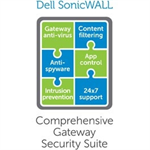 DELL SonicWALL Comprehensive Gateway Security Suite