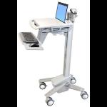 Ergotron StyleView EMR Laptop Cart, SV40 notebook Multimedia cart Aluminium,Grey,White