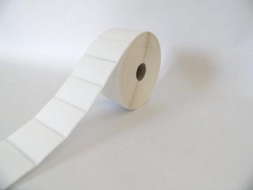 Nakagawa STL 51X25/127 printer label White
