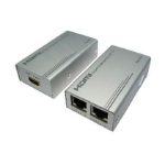 Cables Direct HD-EX333 AV extender AV transmitter & receiver Silver