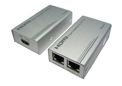Cables Direct HD-EX333 AV transmitter & receiver Silver AV extender