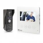 "Swann SWHOM-DP875C 4.3"" Black,White video intercom system"