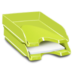 CEP Gloss desk tray Polystyrene Green