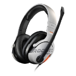 ROCCAT Khan AIMO headset Binaural Head-band Black, White