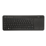Trust VEZA WIRELESS TOUCHPAD keyboard RF Wireless QWERTY English Black
