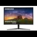 """Samsung C32JG50QQU LED display 80 cm (31.5"""") 2560 x 1440 pixels WQHD Curved Matt Black,Silver"""