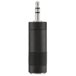 Belkin 3.5mm M - 6.3mm F Black,Nickel