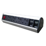 PowerData Technologies 4 x individually fused power, 2 x 6C data cut-outs, master switch