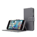 "TheSnugg B00PASJNYQ 4.7"" Folio Grey mobile phone case"