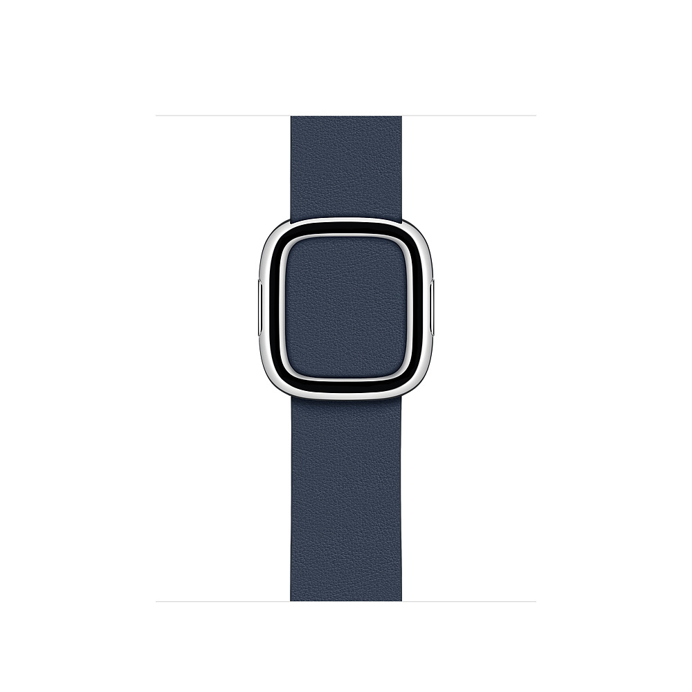 Apple MXPD2ZM/A smartwatch accessory Band Blue Leather