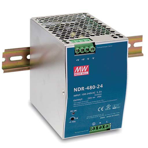 D-Link DIS-N480-48 unidad de fuente de alimentación 480 W Acero inoxidable