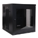 Tripp Lite 12U SmartRack Low-Profile Wall-Mount Rack Enclosure Cabinet with Clear Acrylic Door, Switch-Depth, Hinged Back