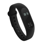"Xiaomi Mi Band 2 Wristband activity tracker Black IP67 OLED 1.07 cm (0.42"")"