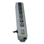 "Tripp Lite 6SP surge protector Black 6 AC outlet(s) 120 V 70.9"" (1.8 m)"