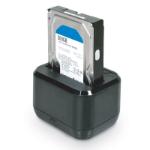 "Port Designs 900040 HDD-/SSD-behuizing 2.5/3.5"" Zwart opslagbehuizing"