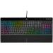 Corsair K55 RGB PRO XT keyboard USB QWERTY English Black