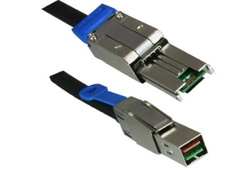DINIC SAS-8844-2 Serial Attached SCSI (SAS) cable 2 m Black