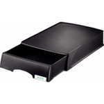 Leitz 52100095 Polystyrene Black desk tray