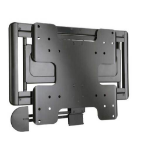 Sanus VisionMount VMF308-B2 Super Slim Mounting kit ( full motion wall mount ) for TFT black screen size: 26 Inch to 47 Inch
