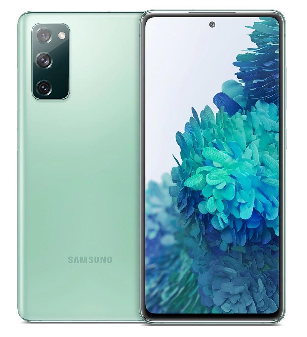 "Samsung Galaxy S20 FE SM-G780G 16.5 cm (6.5"") Hybrid Dual SIM 4G USB Type-C 6 GB 128 GB 4500 mAh Mint colour"