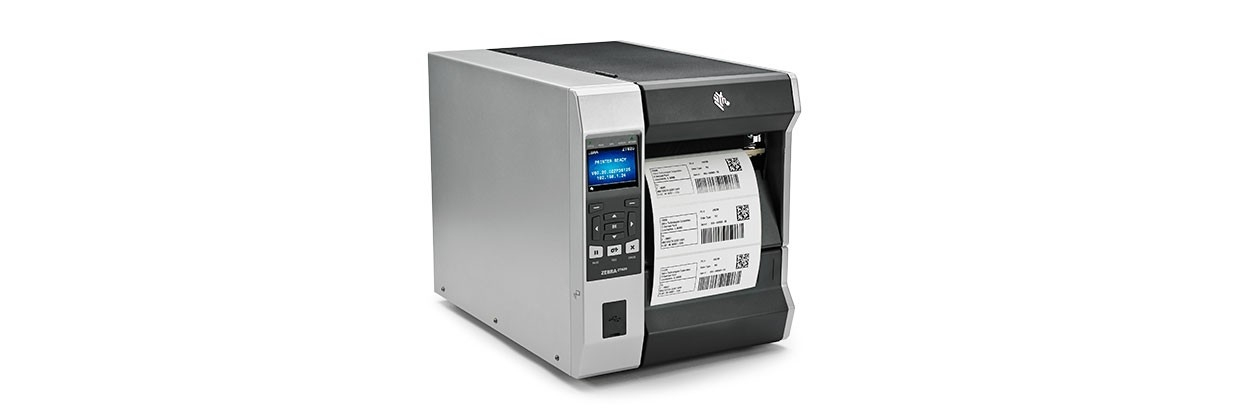 ZEBRA ZT620 LABEL PRINTER THERMAL TRANSFER 203 X 203 DPI WIRED & WIRELESS