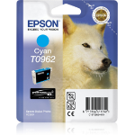 Epson Husky T0962 Original Foto zyan 1 Stück(e)