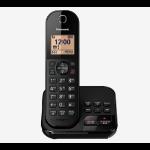 Panasonic KX-TGC420EB telephone DECT telephone Caller ID Black