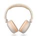 Energy Sistem 445622 auricular y casco Auriculares Diadema Beige, Blanco